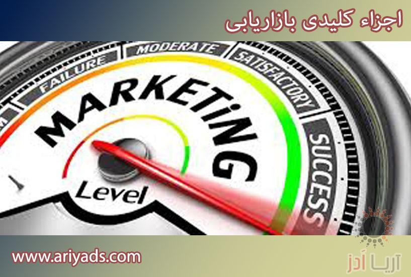 تصویر شماره اجزاء کلیدی بازاریابی